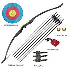 Tongtu <b>Archery Recurve Bow</b> and Arrow Set for Adults Beginners <b>30</b> ...