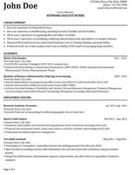 images about best network engineer resume templates    click here to download this network analyst intern resume template  http
