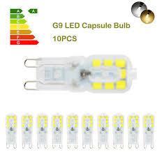 1/<b>10pcs G9</b> 3W 5W 8W 12W <b>LED Dimmable</b> Capsule Light Lamp ...