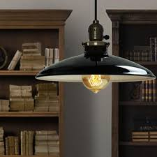 retro industrial iron vintage pendant lamp drop light fixture ceiling lampshade for dining room e27 220 ceiling lighting fixtures home office