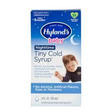 Hyland's <b>Baby</b> Nighttime <b>Tiny Cold Syrup</b>