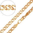 Золотая цепочка венецианского плетения