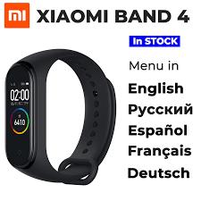 Оригинальный 2019 новейший <b>Xiaomi mi</b> браслет 4 Smart mi ...