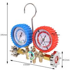 Online Shop <b>1pc</b> Alloy Manifold Gauge Durable Pressure Gauges ...