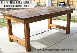 pottery barn style dining table: diy dining table diy dining table diy dining table