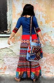 M-M/L colorful <b>summer</b> ethnic <b>bohemian</b> folk <b>long skirt</b> hippie ...