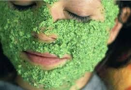 Картинки по запросу петрушечная маска для лица