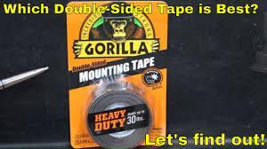 Which <b>Double</b>-<b>Sided</b> Mounting <b>Tape</b> is Best? Let's find out! - YouTube