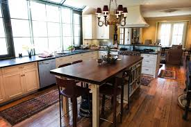 Walnut Floor Kitchen Longleaf Lumber Reclaimed Kitchen With Walnut Countertop And Oak
