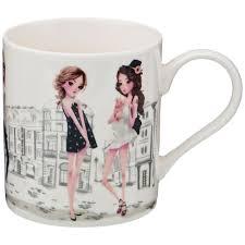 """<b>Кружка</b> Lefard """"<b>Fashion princess</b>"""", 380 мл (арт 407-115) купить по ..."""