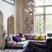 inspiring bohemian living room designs wall decals is an unusual but more than welcome addition to a boho decor the bohemian style living room
