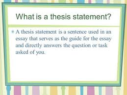 how to write a thesis and the rest of the an essay  ppt download what is a thesis statement a thesis statement is a sentence used in an essay