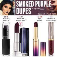 <b>MAC Smoked Purple</b> Lipstick Dupes