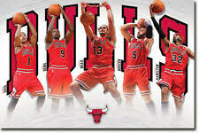 Chicago Bulls - Players POSTER <b>56x86cm</b> NEW * NBA Derrick ...