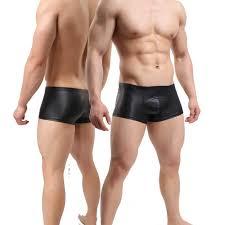 <b>ERFSQIYALHJ</b> Latex Men Open Crotch <b>Pants</b> Mens <b>Faux Leather</b> ...
