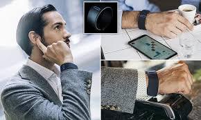 <b>Smart bracelet</b> manipulates bone-conducing tech | Daily Mail Online