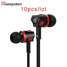 <b>10pcs</b>/<b>lot</b> Original Langsdom JM26 Headphones Wired Earphone In ...