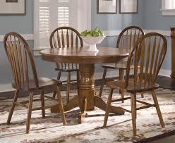 exquisite furniture nostalgia 5 piece 42 inch round dining room set in oak dining room furniture buy dining furniture