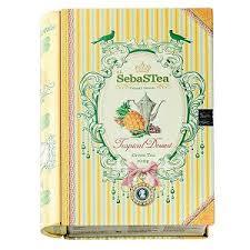 Чай SebaSTea Tropical Dessert Книга ж/б 100 г Чай SebaSTea ...