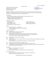 entry level electrician resumes template entry level electrician resumes