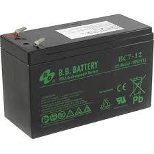 <b>Аккумулятор для ИБП</b> 12V 7Ah <b>B.B. Battery</b> BC7-12 — купить ...