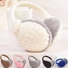 Women's Accessories New <b>Winter Ear</b> Cover Warm Knitted <b>Earmuffs</b> ...