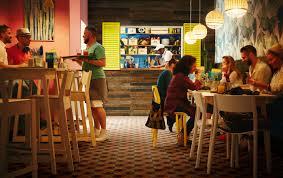 Интерьер кафе быстрого питания - <b>IKEA</b>