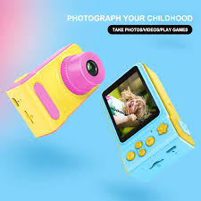 Newest Mini Cute Camera Children's Small Digital Camera SLR ...