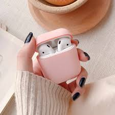 For Apple Airpods Case Protective <b>Hard PC Matte</b> Candy Color ...
