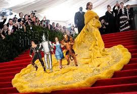 Rihanna's Met Gala Dress Has Inspired THE Most Hilarious Memes ... via Relatably.com