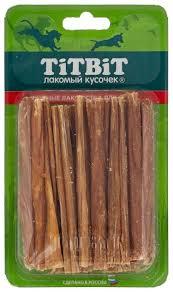<b>Лакомство для собак Titbit</b> Кишки говяжьи Б2-M — купить по ...