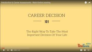 how to take the test career assessment overview how to take the test career assessment overview