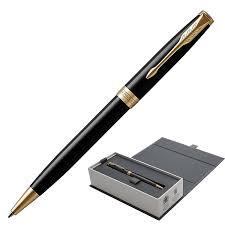 """Купить <b>Ручка шариковая PARKER</b> """"Sonnet Core Lacquer Black GT ..."""