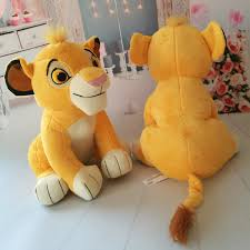 <b>26cm The Lion</b> King Plush Toys Simba Soft Stuffed Animals doll kids ...