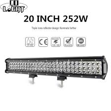 Online Shop <b>CO LIGHT</b> 20inch 4X4 Led Bar 7D 252W 12V 24V ...