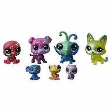Hasbro Littlest Pet Shop E2129 Литлс Пет Шоп 7 Космических ...