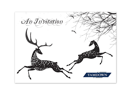 tamdown elegant christmas invitation design exist creative elegant invitation design illustration for a corporate christmas black tie event