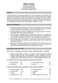 profile resume sample template  seangarrette coexample of a good resume for profile with major achievements and education   profile resume sample