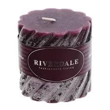 <b>Набор свечей Riverdale бордовые</b> 25см 4 шт (1002262652 ...
