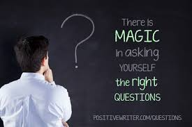 Image result for ASK YOURSELF QUESTIONS IMAGE