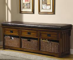 storage bench for living room: benches large storage bench with baskets