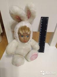<b>Малыш в костюме Зайчика</b> игрушка, мягкая купить в Москве ...