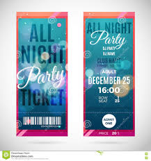 vector christmas party ticket card design template stock vector merry christmas and happy new year ticket design vector illustration stock photos