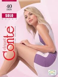 Купить <b>Conte Solo</b> 40 XL, <b>колготки</b> цвета nero, natural, grafit ...