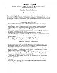 licensed personal banker resume sample cipanewsletter cover letter personal banker resume example licensed personal