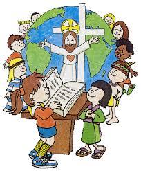 Resultado de imagen para niños en la iglesia dibujos