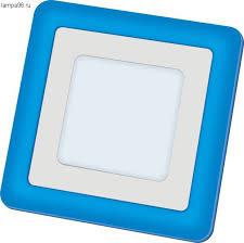 <b>Светильник Navigator 71</b> 823 <b>NLP</b>-<b>SC2</b>-<b>6</b>+<b>2W</b>-<b>WB</b>-<b>LED</b>(140x140 ...