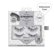 Divine <b>3D Magnetic</b> Lashes - Silk <b>Magnetic False Eyelash</b> Kit ...