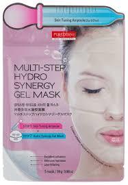 Purederm Многоступенчатая <b>гидрогелевая маска с</b> ... — купить по ...
