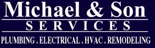 Michael and Sons Services plumbing franchises